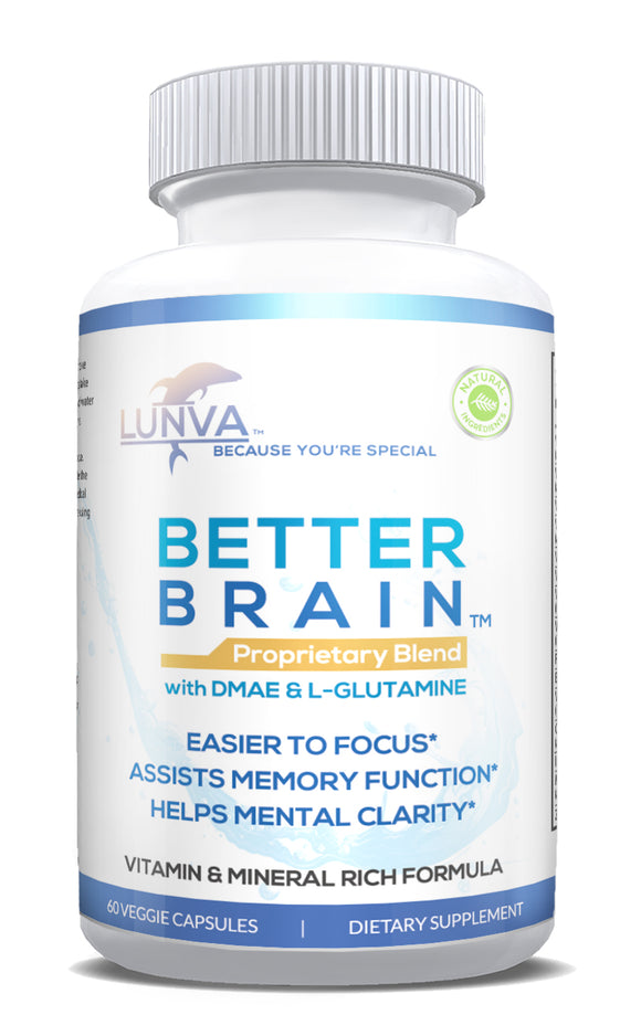 Lunva Better Brain Nootropic Brain Supplement