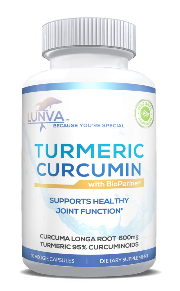 Lunva Turmeric Curcumin Dietary Supplement