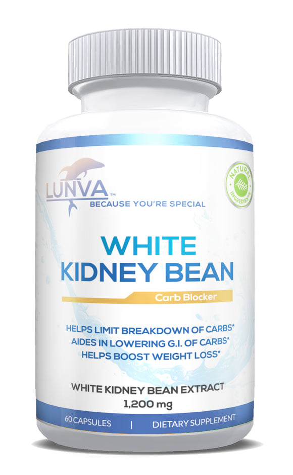 Lunva White Kidney Bean Carb Blocker Dietary Supplement