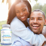 Lunva Multivitamin for Women Dietary Supplement with happy couple