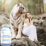 Lunva Multivitamin for Women Dietary Supplement with lady