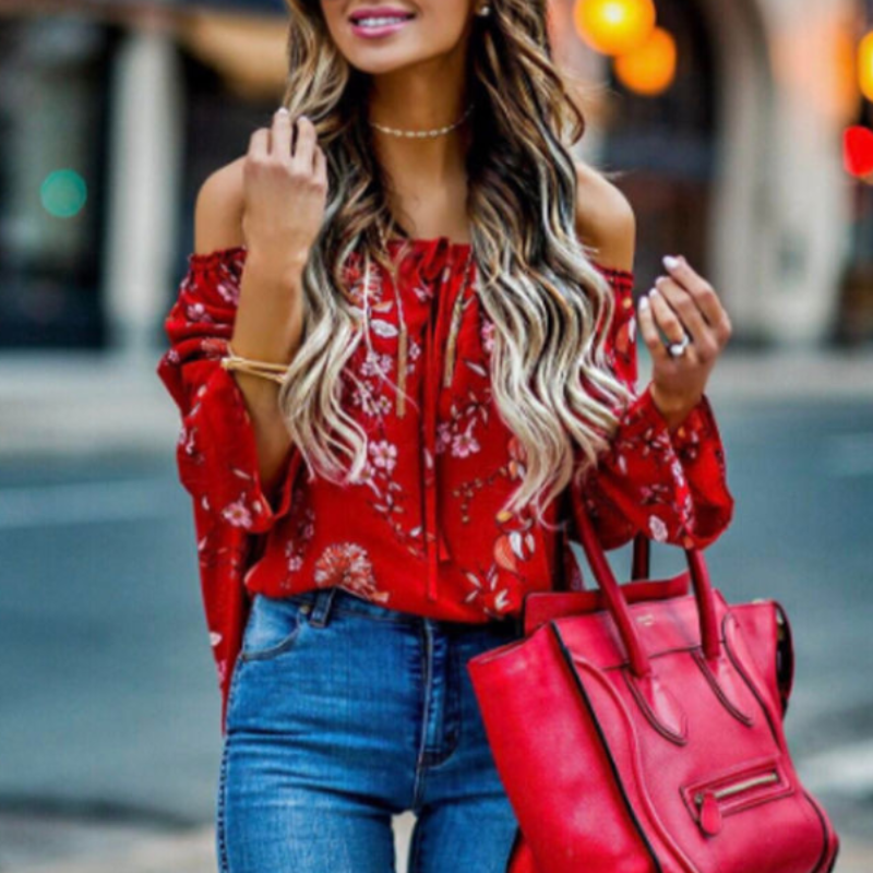 Roof Top Date Blouse