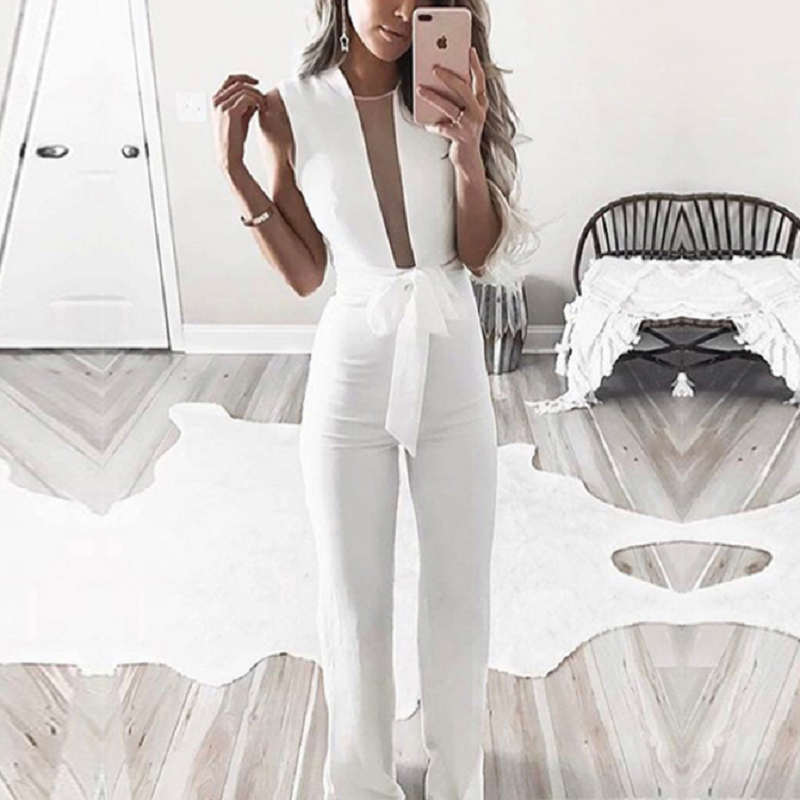 Open Front Jumpsuit