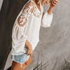 Flower Look Blouse