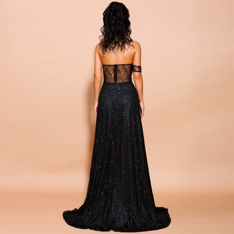 Maxi Elegant Backless Dress