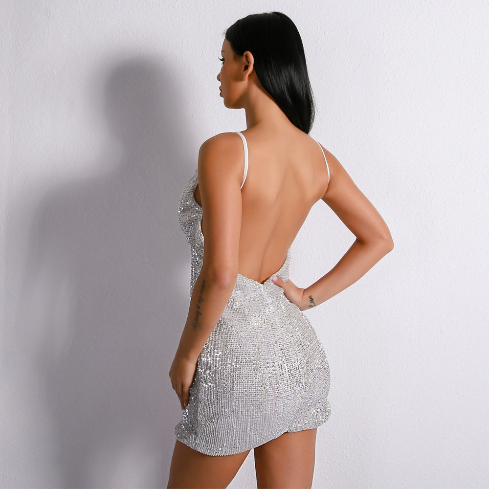 Backless Elegant Dress