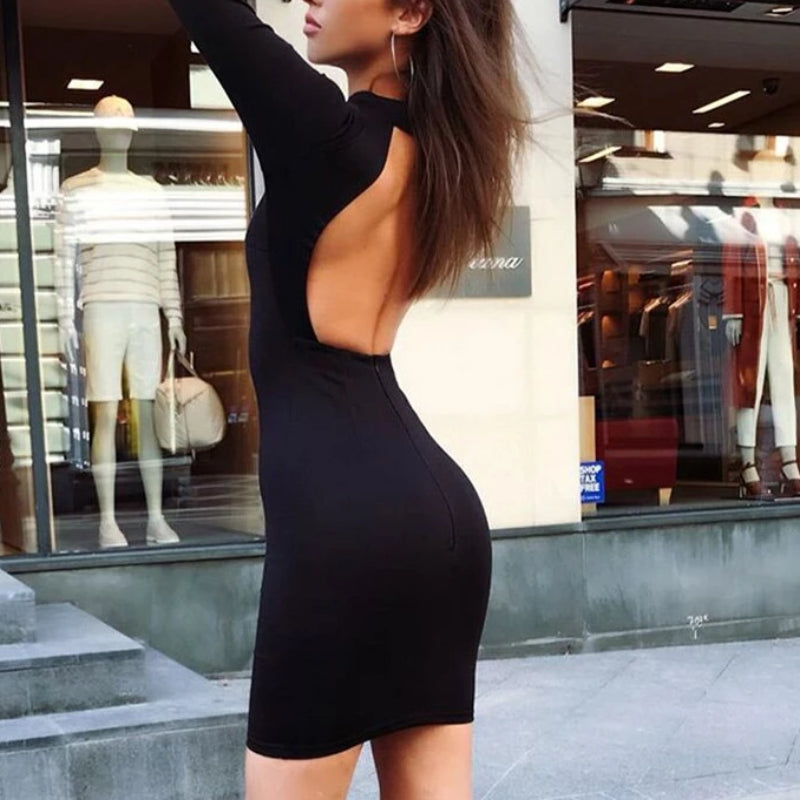 Look Back Dress