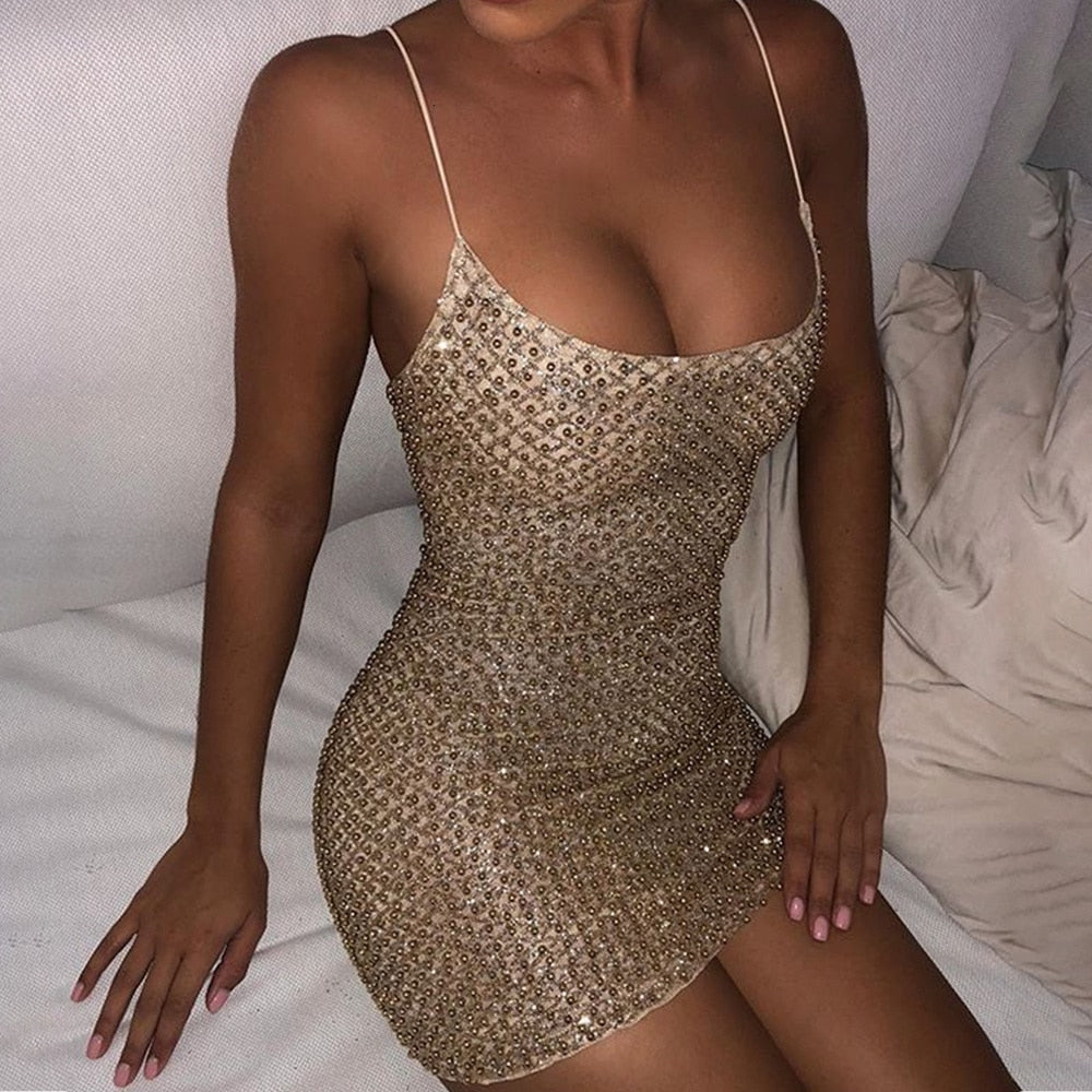 Pearls Night Dress
