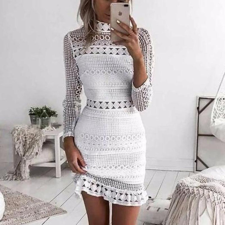 Angie Lace Dress