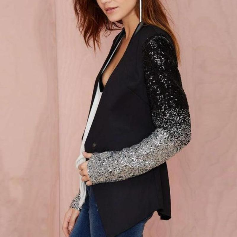 Sequins Fashion Jacket
