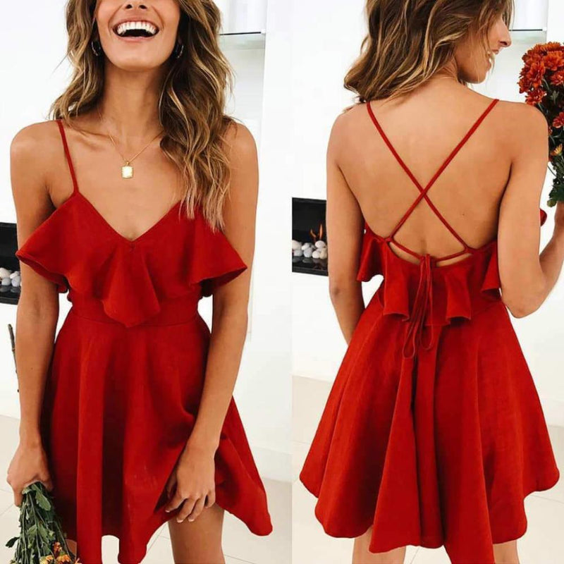 Red Eve Dress