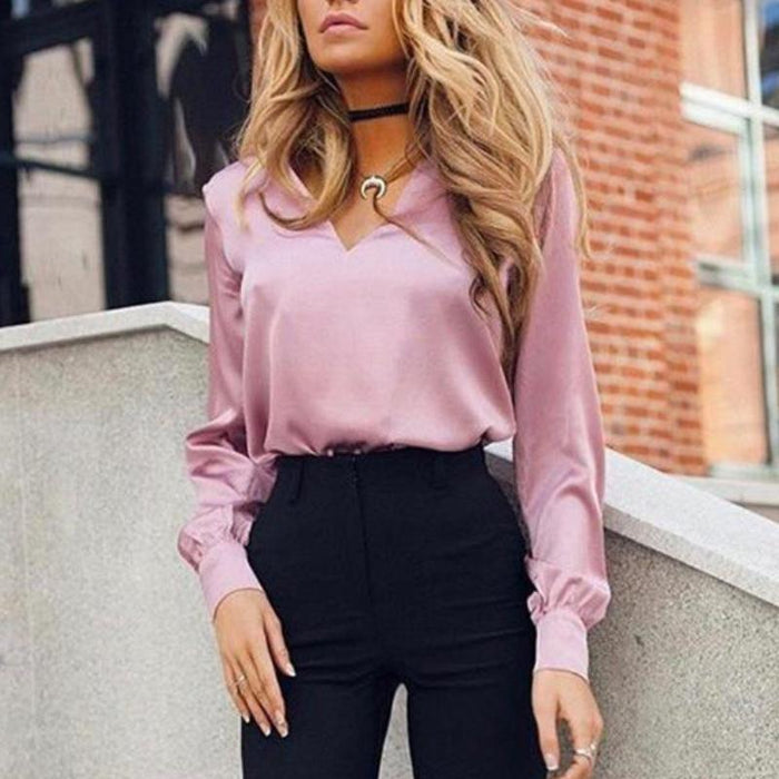 Autumn Elegant Blouse