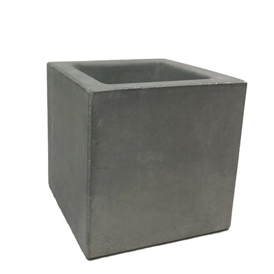 "10"" Concrete Cube Planter"