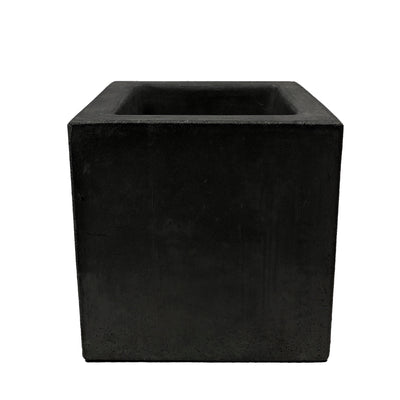 Large 10-inch Concrete Cube Planter