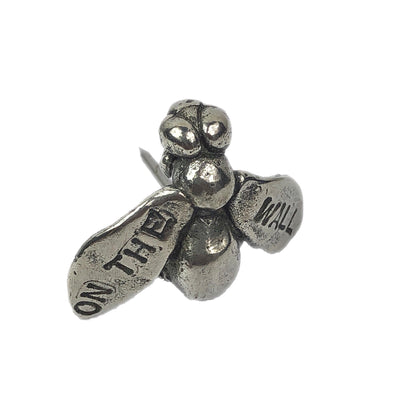 """Fly On The Wall"" Decorative Wall Pin"