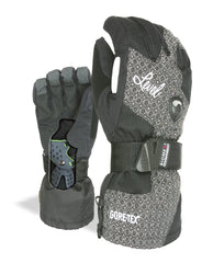 Shop the LEVEL Half Pipe Women's Snowboard Gloves with Wrist Guards