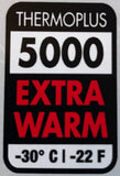 Thermo-Plus 5000 Warmth Rating