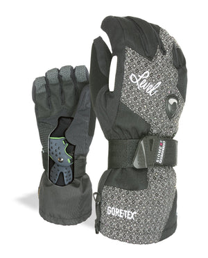 LEVEL Half Pipe GTX Women's Snowboard Gloves with Wrist Guards - Luxury