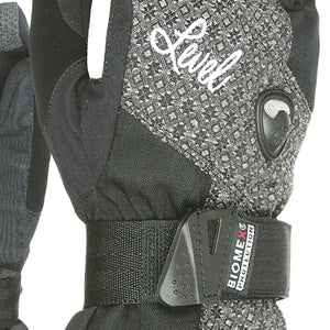 LEVEL Half Pipe GTX Women's Snowboard Gloves with Wrist Guards - Close In View of Luxury Color