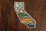 California Sunshine State Sticker