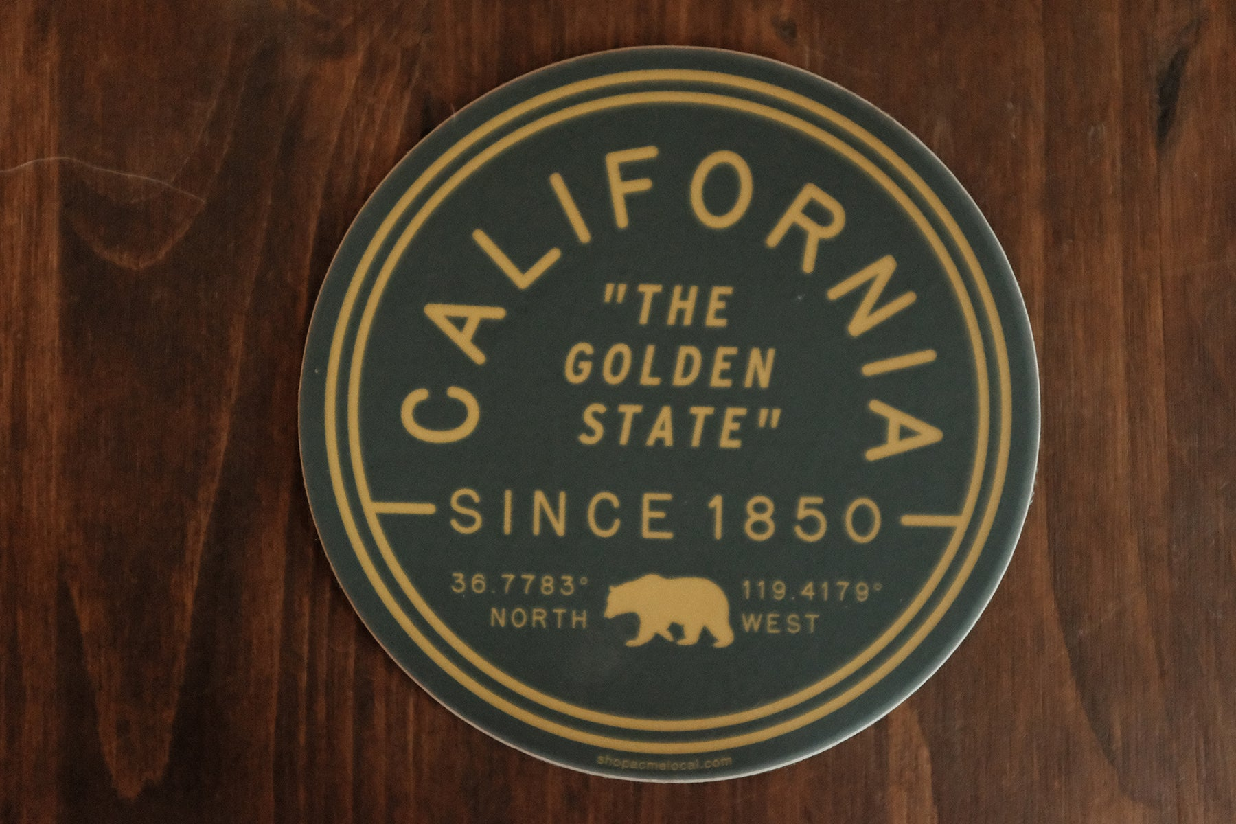 "California ""The Golden State"" Sticker"