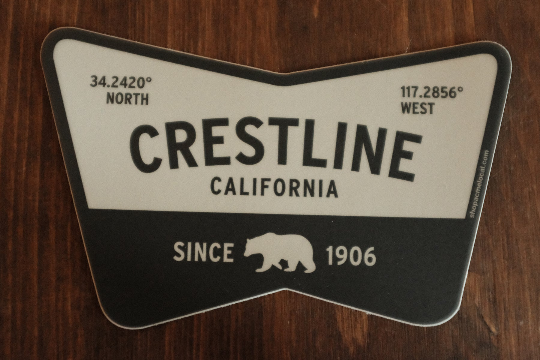 Crestline CA Sticker