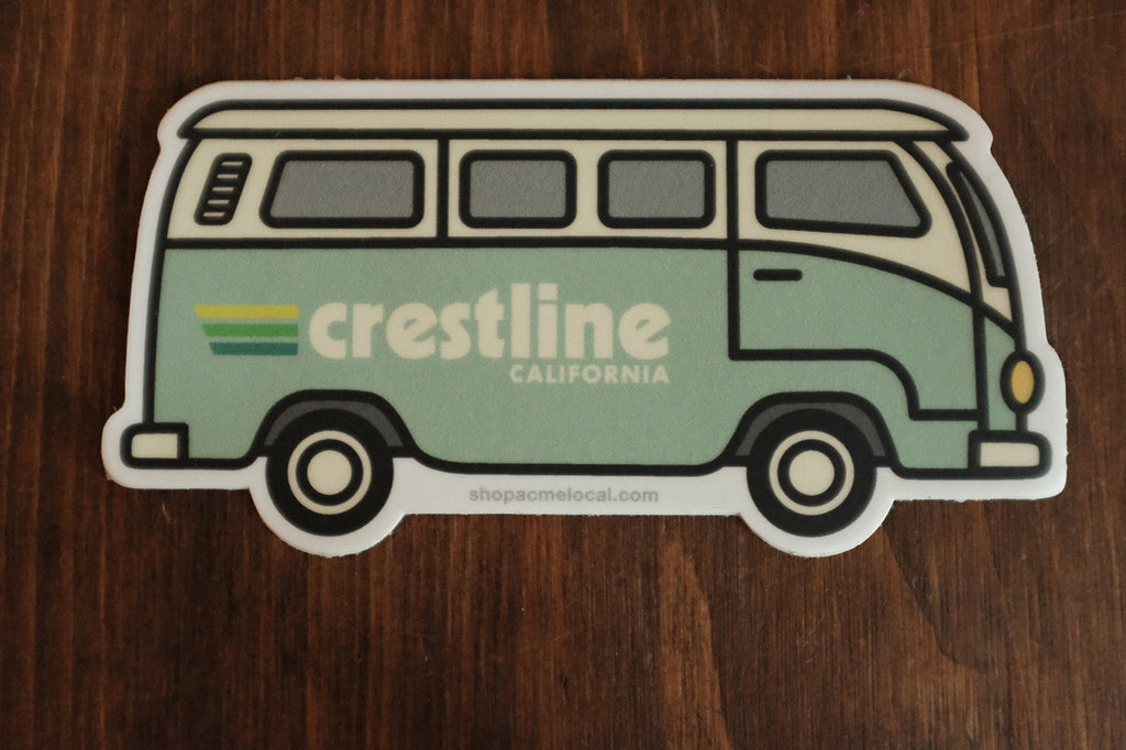 Crestline VW Sticker