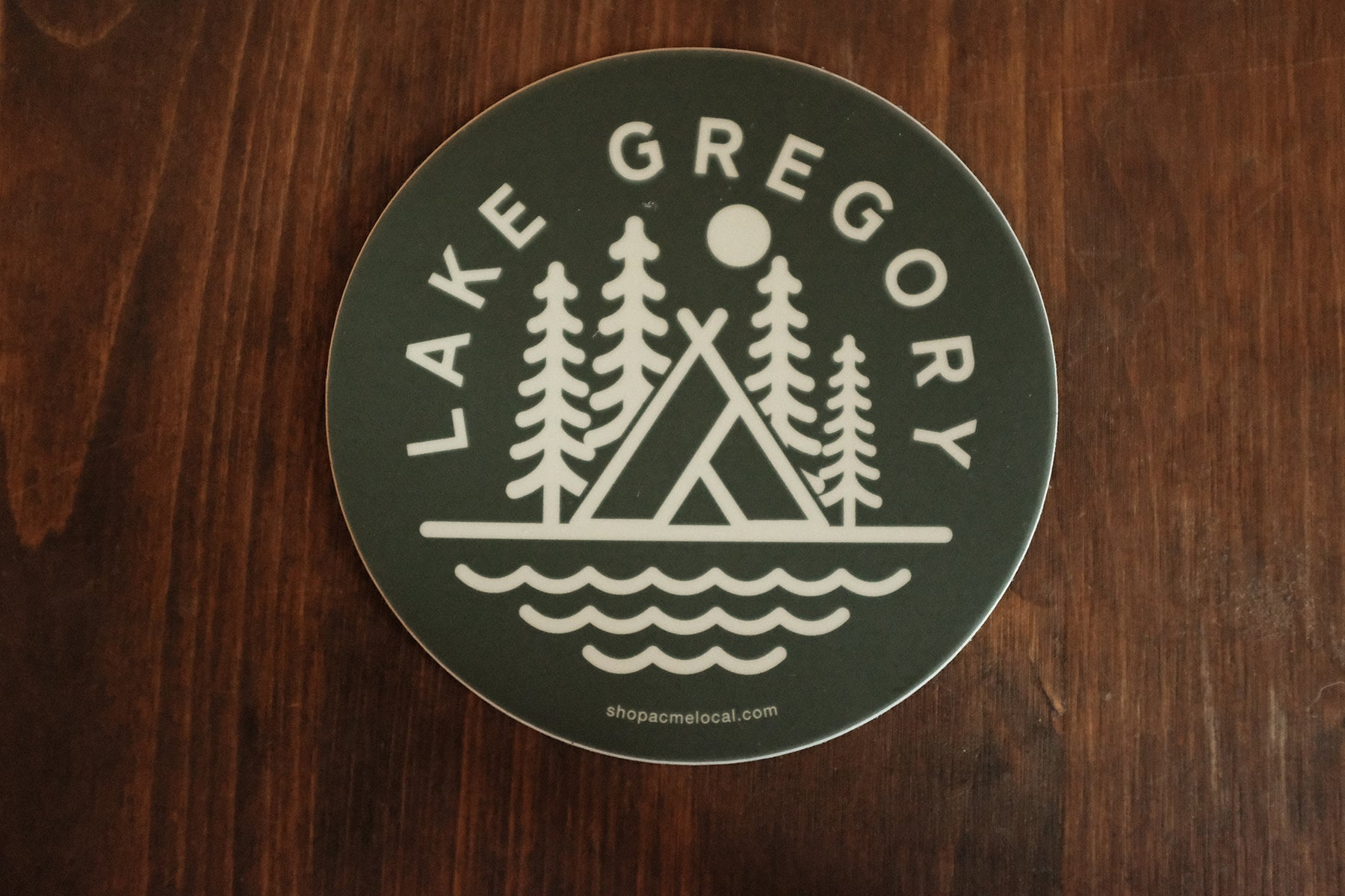 Lake Gregory Sticker