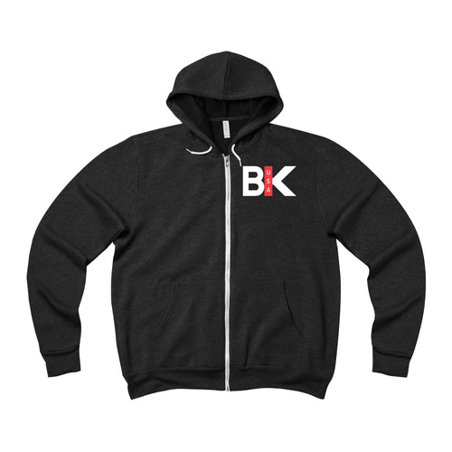 Get the F | Unisex Sponge Fleece Full-Zip Hoodie - BikeMondo
