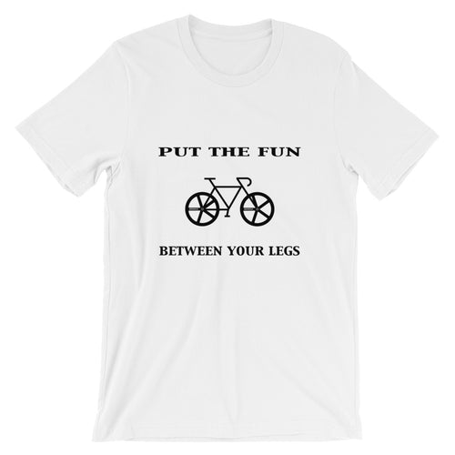 The Real Fun | Short-Sleeve Unisex T-Shirt - BikeMondo