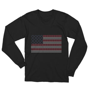 Patriot Unisex Long Sleeve T-Shirt - BikeMondo