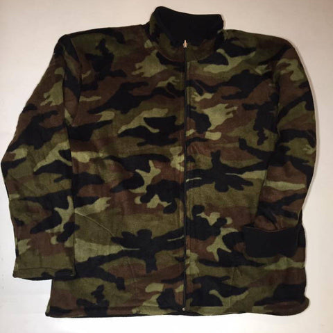 ZooFleece Reversible Military Camouflage Jacket Winter Warm Hunting Hunt Ugly Sweater Funny Sweater Christmas xmas