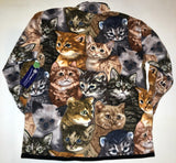 ZooFleece Cat Shirt Cat Costume Cat Hoodie Cat Tree Animal Cat Bed Cat Ears Girl Power Cat Lover Gift Gift for Her Feminist Shirt