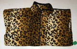 ZooFleece Leopard Animal Print Fleece Jacket Best Friend Gift For Her Birthday Ugly Sweater Funny Sweater Christmas xmas