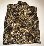ZooFleece Super Comfortable Shadow Grass Camouflage Fleece Vest Hunting Gift S-3X