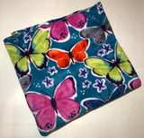 "ZooFleece Butterfly Butterflies Monarch Insect Blanket Animal Quilt Throw 55X60"" Linen Comfortable"