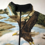 ZooFleece Eagle Bear Elk Fleece Jacket Best Friend Gift Sweater Funny Sweater Christmas xmas