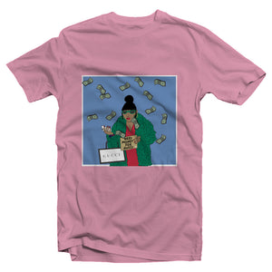 """Need Money For Gucci"" Baby Blue Edition Women's Tee"