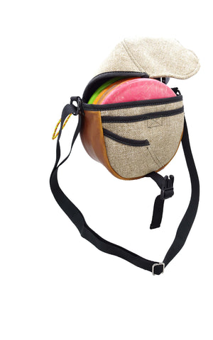 disc golf bag, hemp accessory