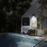 LED Solar Powered Motion Sensor Security Light. No Wiring Needed, Easy Installation