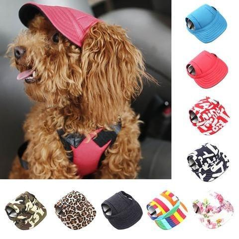 VStyle Summer Dog Hat, Protect Your Dog's Eyes From The Sun in Style!