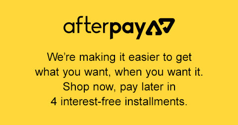 Shop Almond Clear now, pay later with AfterPay