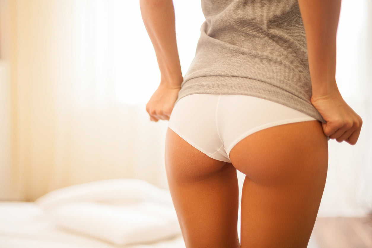 wearing cotton underwear can reduce butt acne
