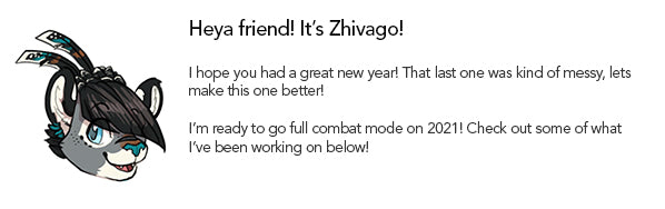 A Message from Furry Artist Zhivago