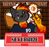 Thank you for your patronage, Sever!