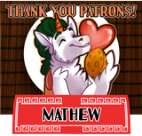 Thank you for your patronage, Mathew!