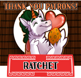 Thank you for your patronage, Ratchet!