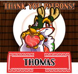 Thank you for your patronage, Thomas!