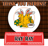 Thank you for your patronage, Ray Ray!