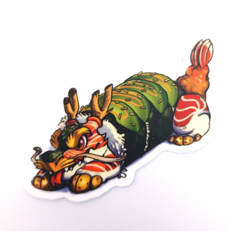 Sushi Tomodachi | Dragon Roll Sticker